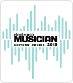 Electronic musician editor's choice award 2015 pluginboutique