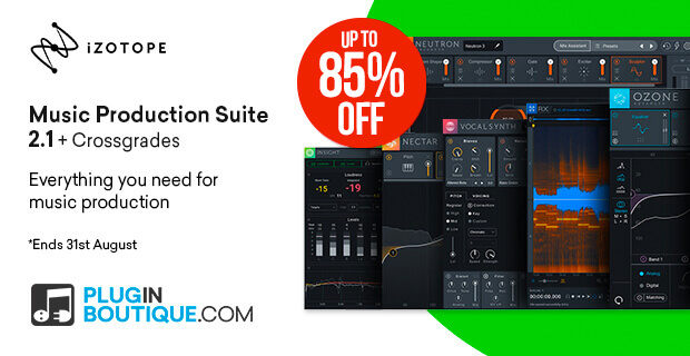 iZotope Music Production Suite 2 Sale