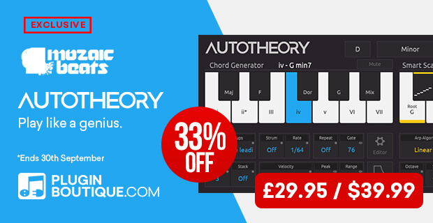 Mozaic Beats AutoTheory 5 Sale (Exclusive)