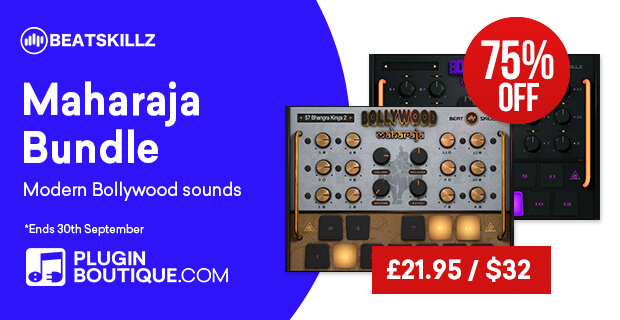 BeatSkillz Bollywood Maharaja Drums Bundle Sale