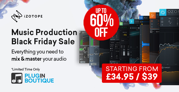 620x320 izotope blackfridaymps3 banner pluginboutique