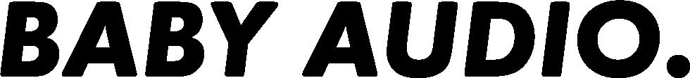 Baby audio logo big   blk pluginboutique