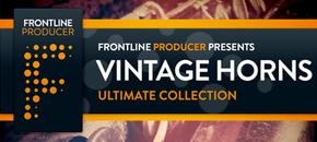 Vintage horns sitefront banner