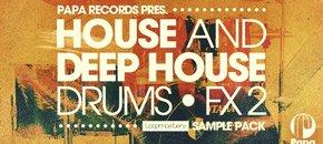 Paparecords house deephouse drums fx2 pluginboutique