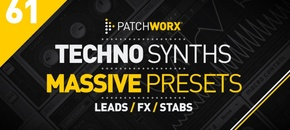 Techno synths massive presets 2 pluginboutique