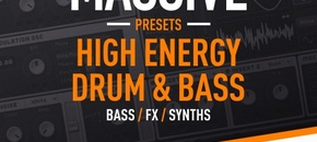 High energy dnb massive presets pluginboutique